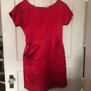 Kate Spade Red Holiday Dress